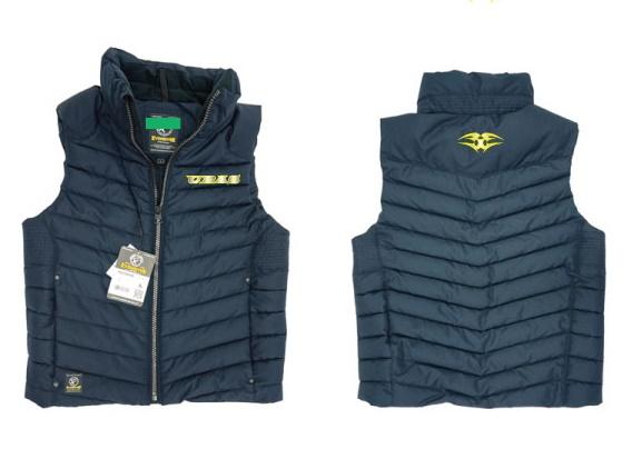 URAS -  Premium Vest  Navy (embroidery Is Silver X Yellow)