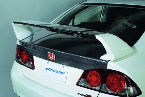 SPOON CARBON TRUNK LID FD2 68500-FD2-010