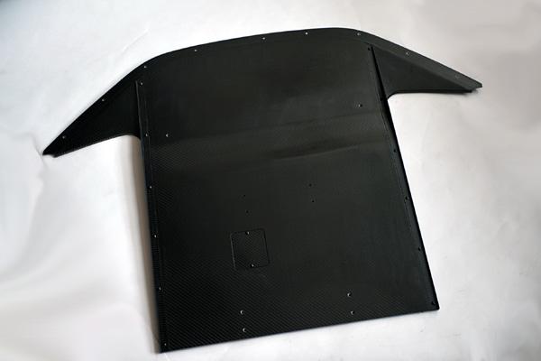 ASM I.S.Design S2000 Front Diffuser - CFRP